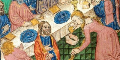 797px-Mary_Magdalen_anointing_Christ's_feet_(f._15v)_Cropped
